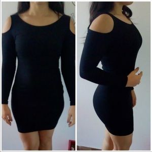 Sexy off the shoulder long sleeve mini dress NWT